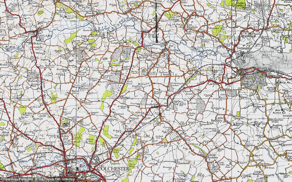 Ardleigh Heath, 1945