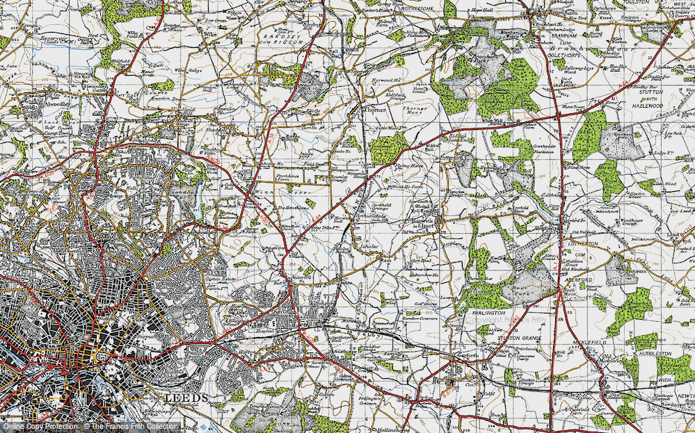 Old Map of Arthursdale, 1947 in 1947