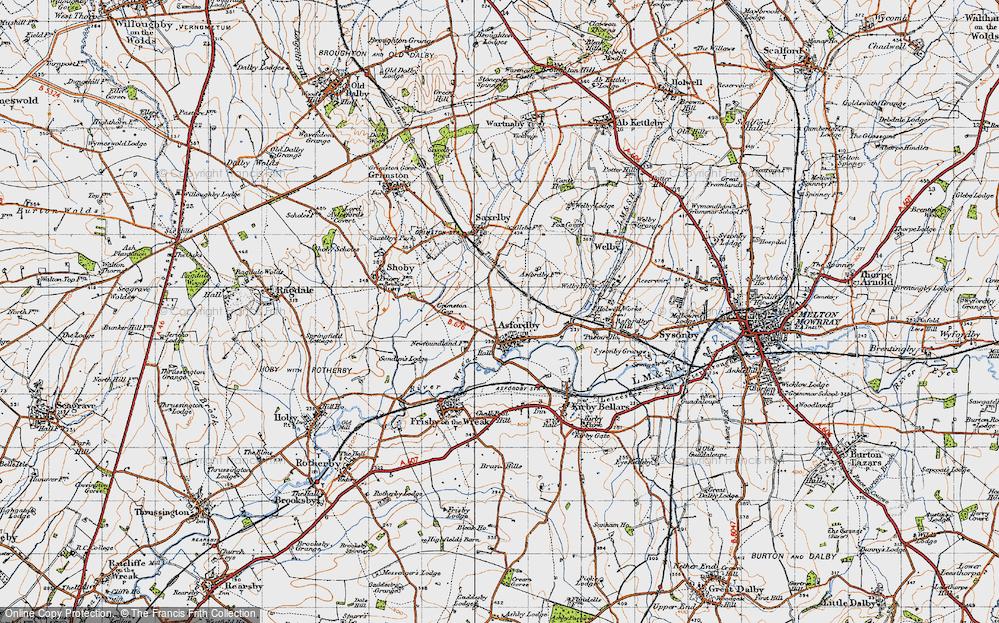 Asfordby, 1946