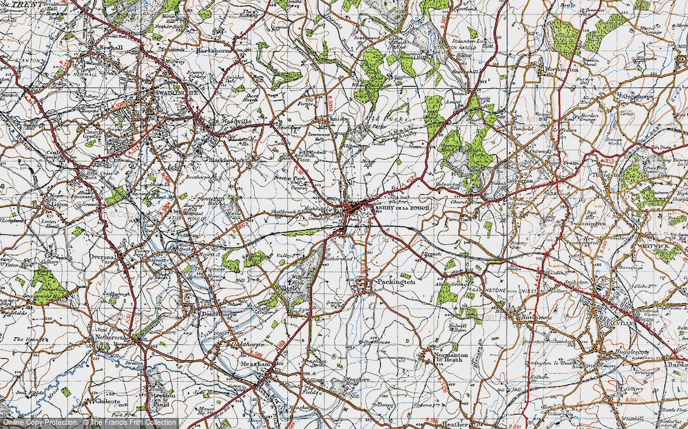 Ashby-de-la-Zouch, 1946