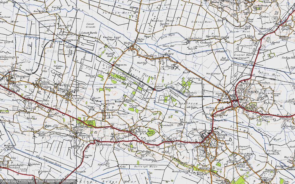 Ashcott Corner, 1946