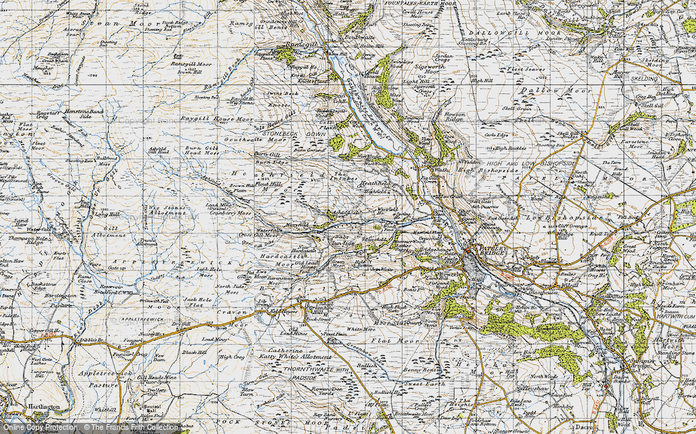 Old Map of Ashfold Side, 1947 in 1947