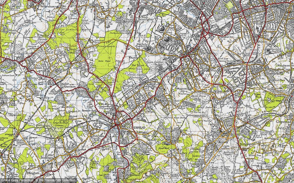 Ashtead, 1945