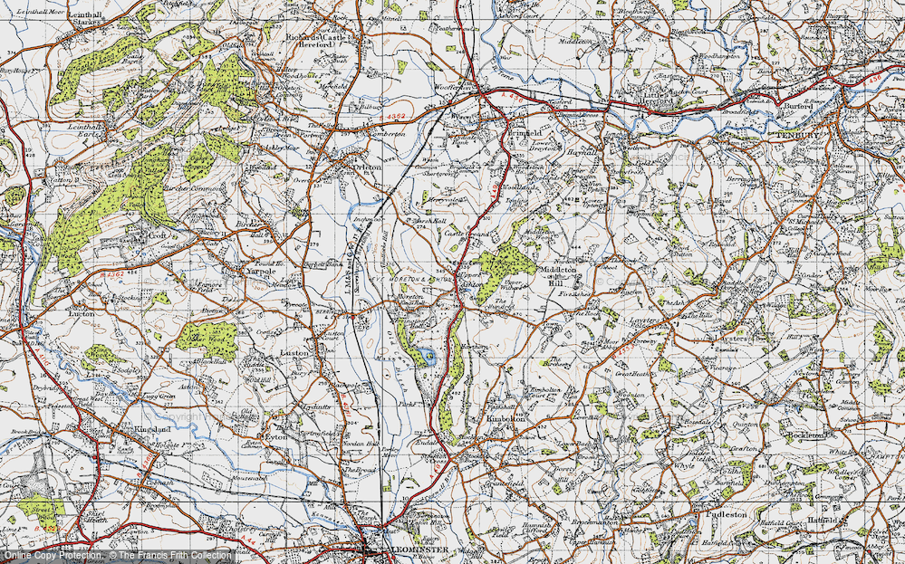 Old Map of Ashton, 1947 in 1947