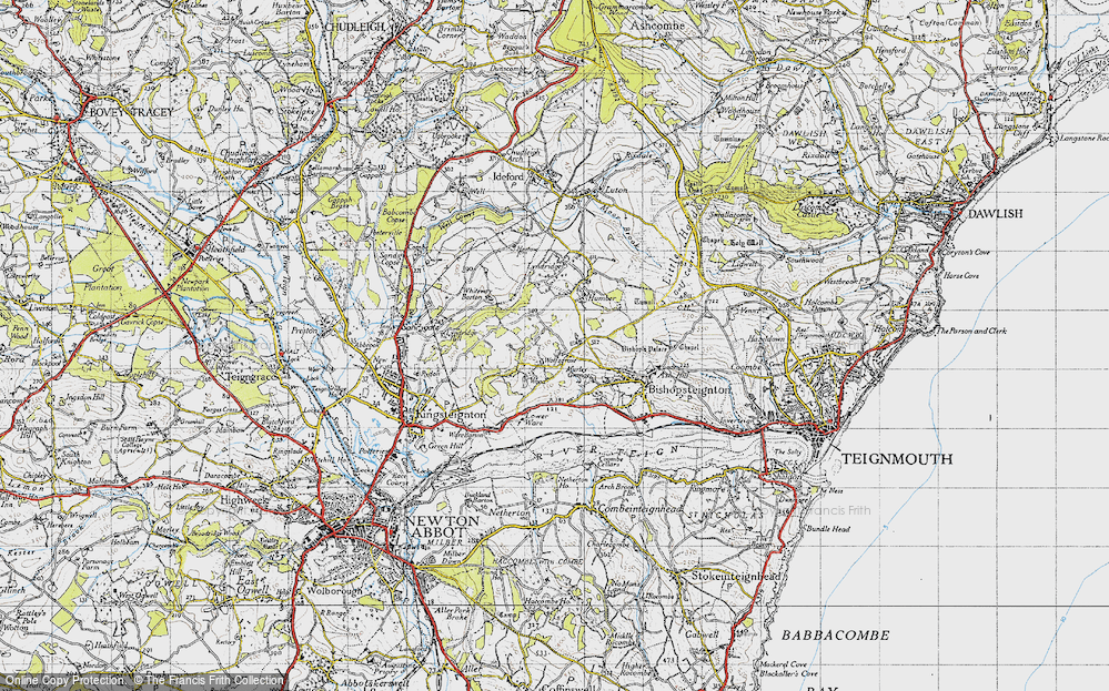 Old Map of Ashwell, 1946 in 1946