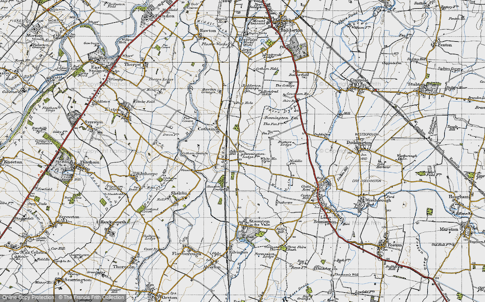Old Map of Askerton Hill, 1946 in 1946