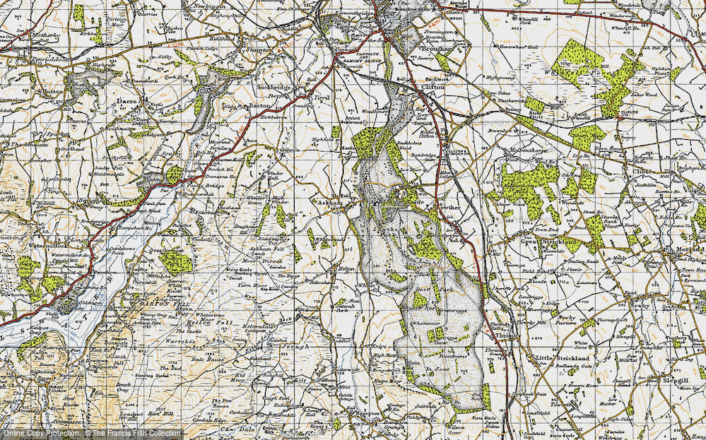 Old Map of Askham, 1947 in 1947