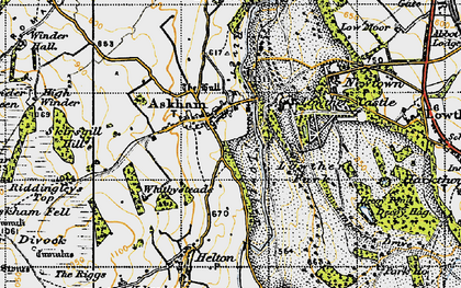 Old map of Askham in 1947