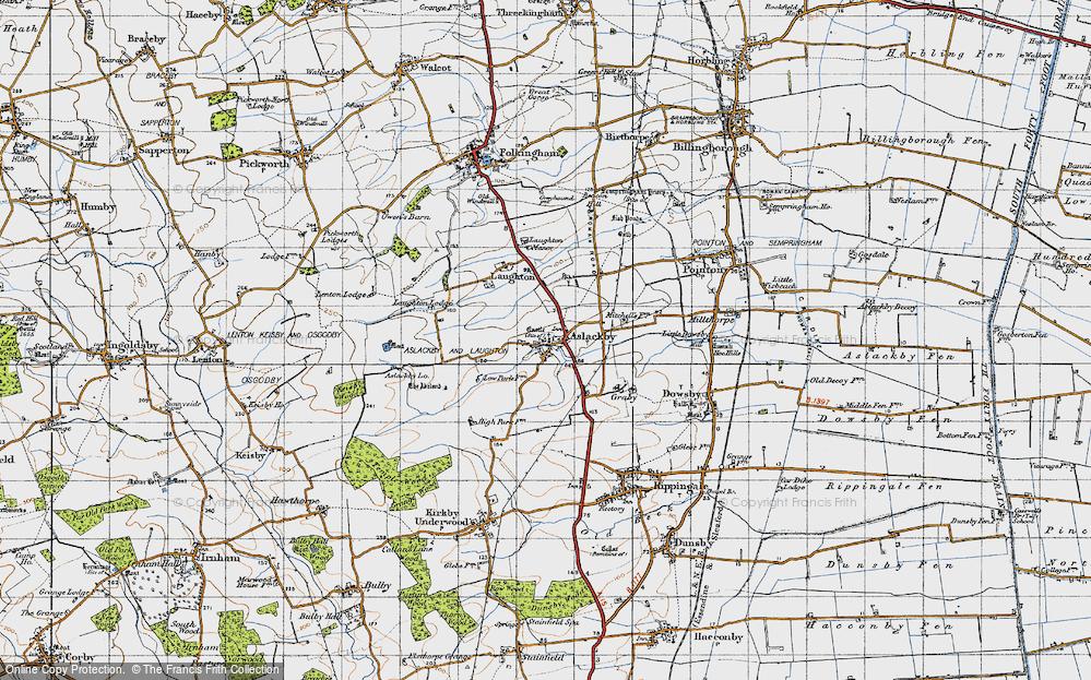 Aslackby, 1946