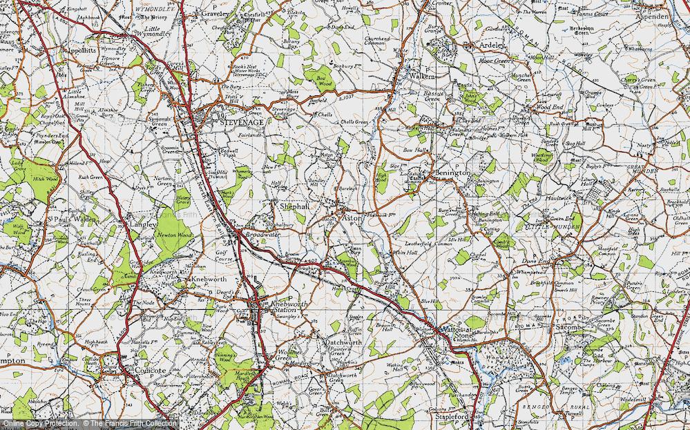 Aston, 1946