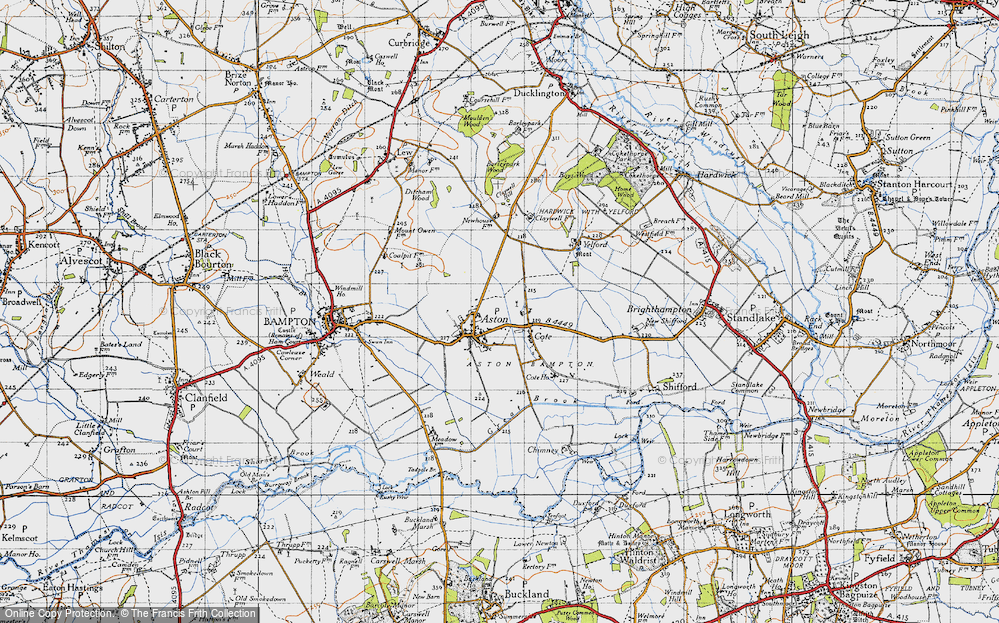 Old Map of Aston, 1947 in 1947