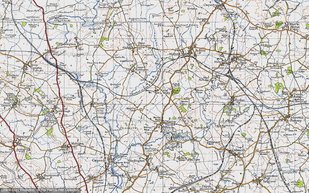 Old Map of Aston le Walls, 1946 in 1946