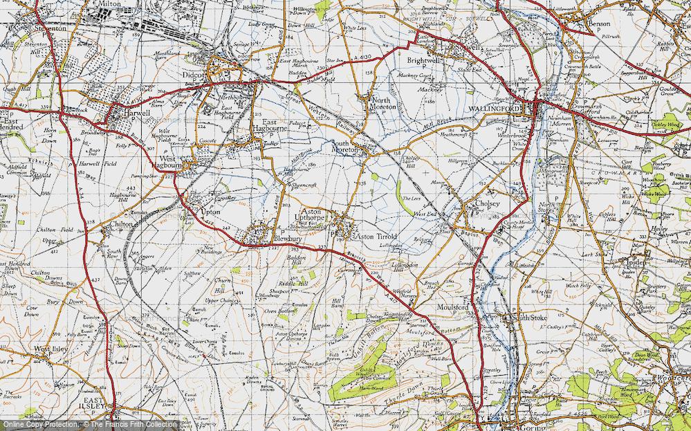 Aston Upthorpe, 1947