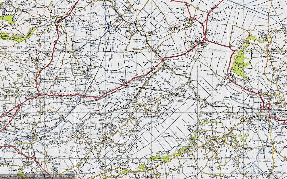 Athelney, 1945