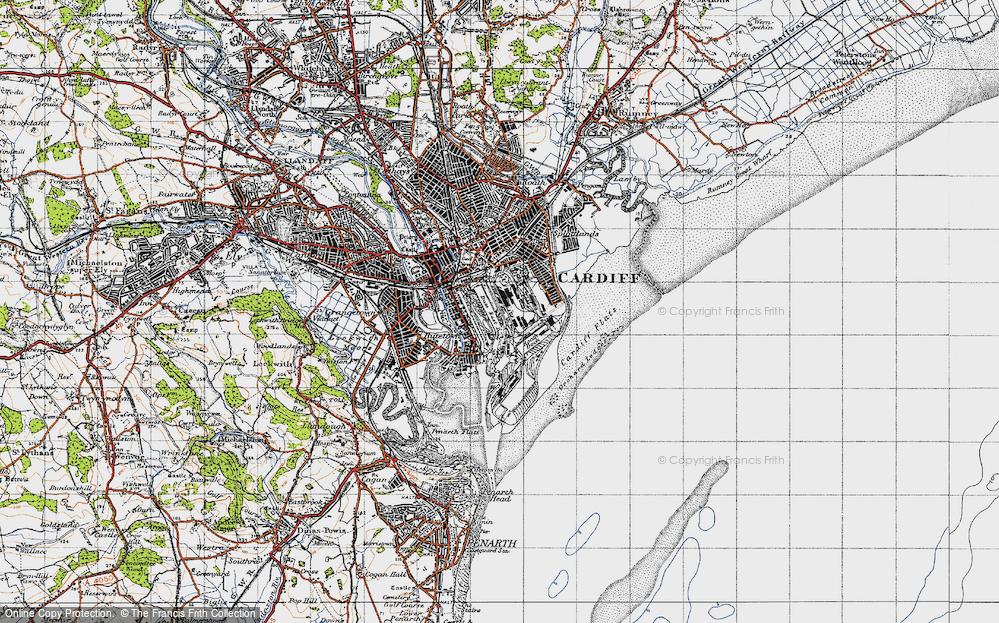Atlantic Wharf, 1947