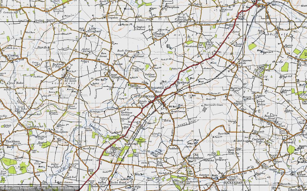 Attleborough, 1946