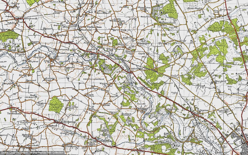 Attlebridge, 1945
