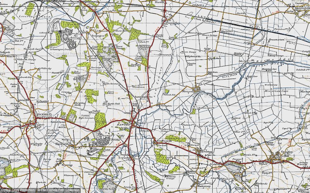 Austerfield, 1947