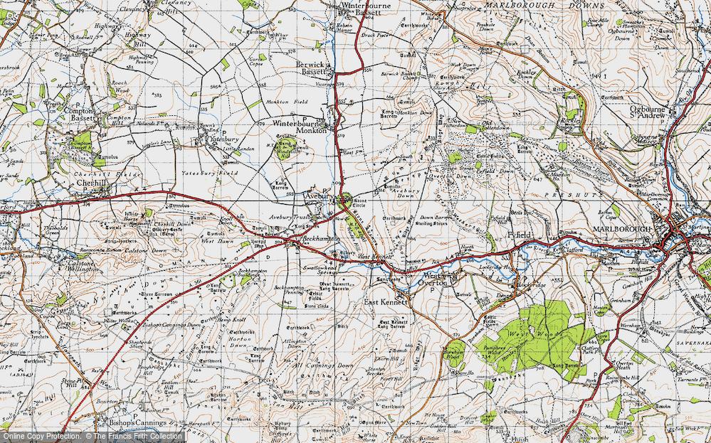 Avebury, 1940