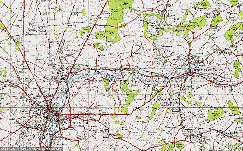 Avington, 1945
