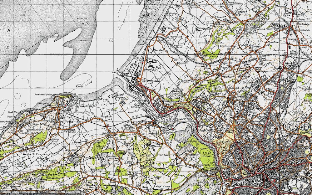 Avonmouth, 1946