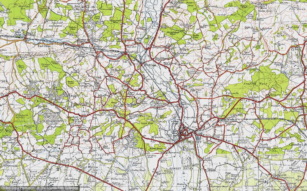 Awbridge, 1945