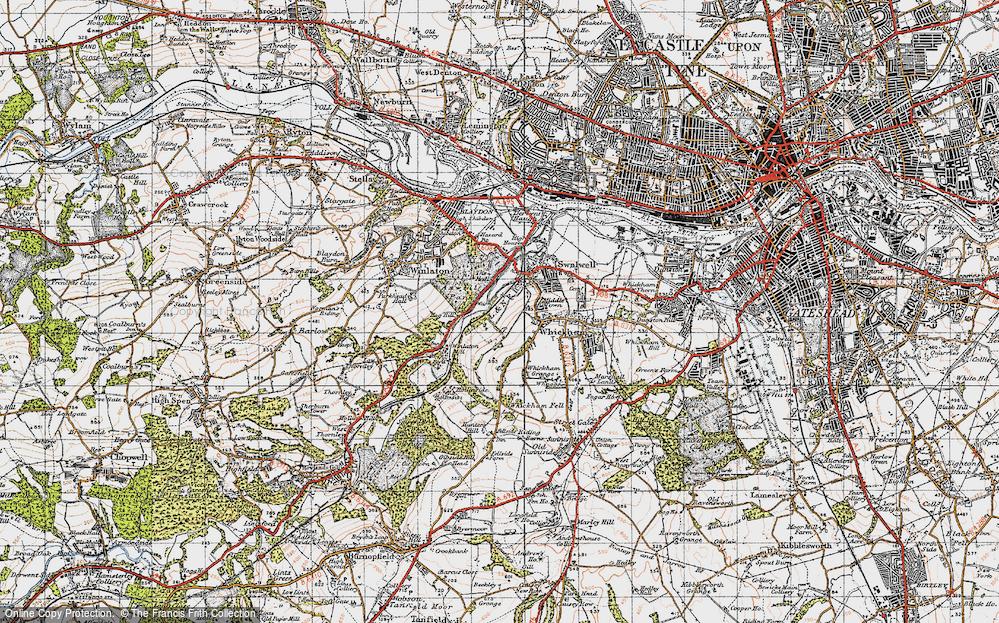 Axwell Park, 1947
