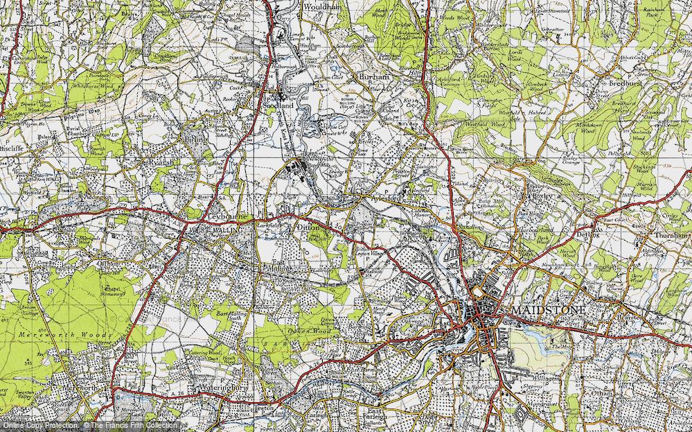 Aylesford, 1946