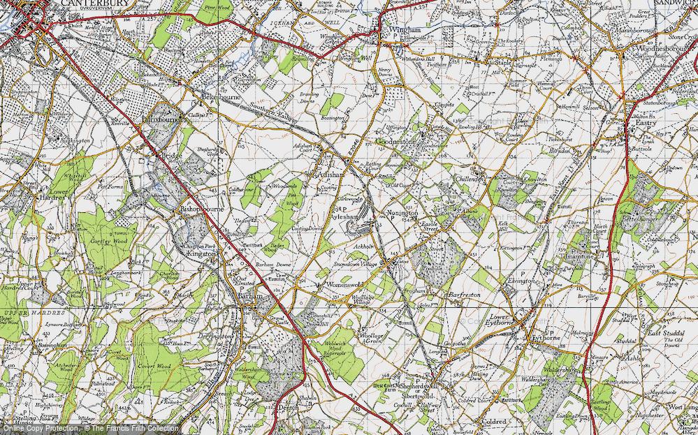Aylesham, 1947
