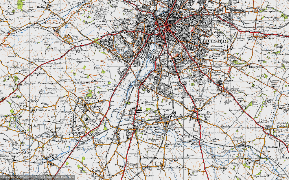 Aylestone, 1946
