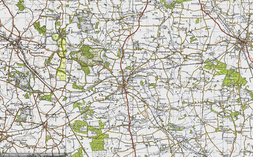 Aylsham, 1945