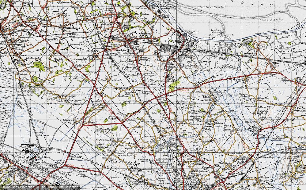 Backford Cross, 1947