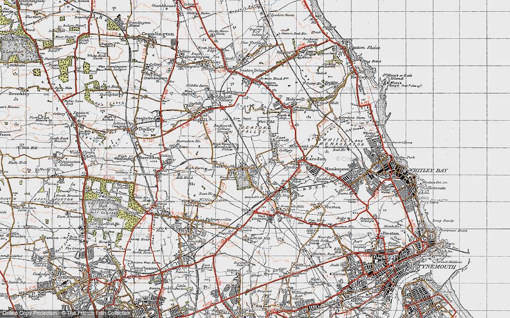 Backworth, 1947