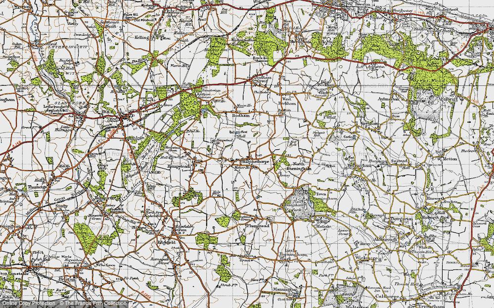 Baconsthorpe, 1945