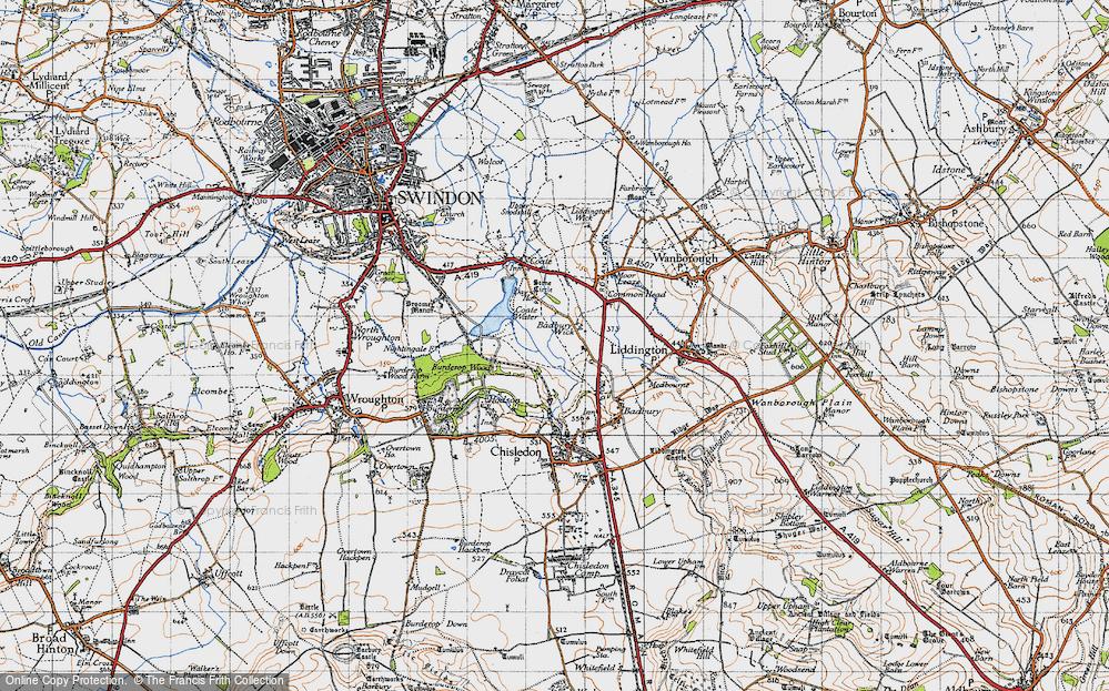 Badbury Wick, 1947