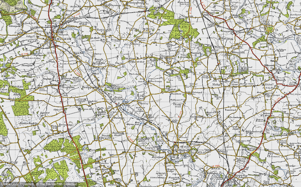 Badersfield, 1945