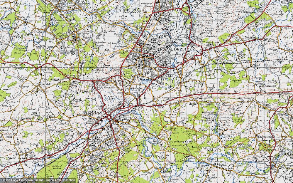 Badshot Lea, 1940