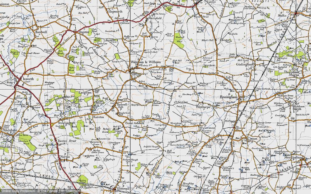 Badwell Green, 1946
