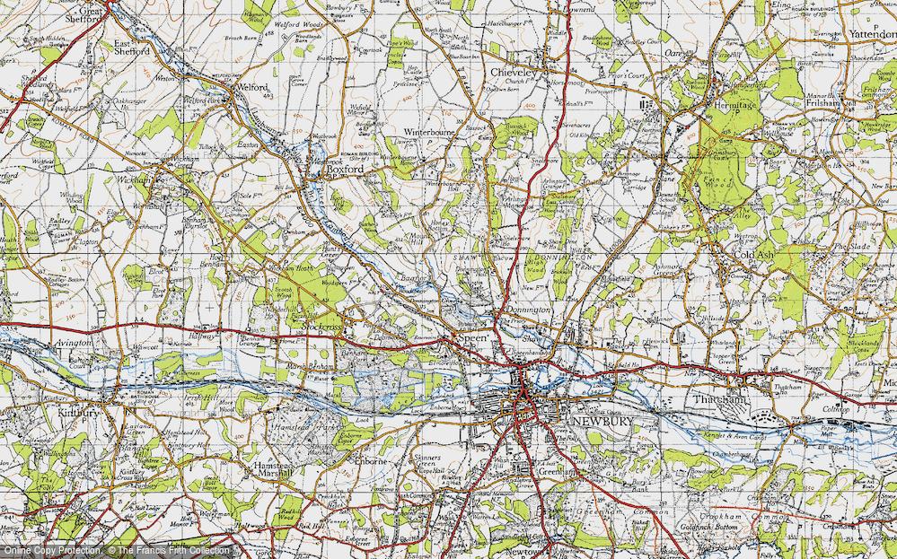 Bagnor, 1945