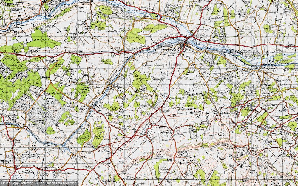 Bagshot, 1945