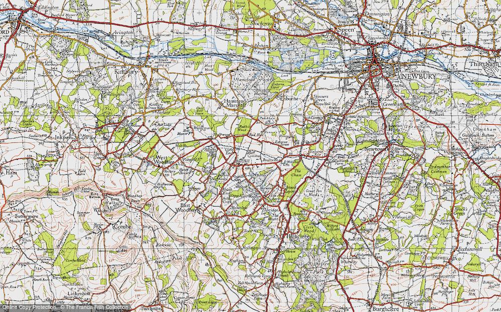 Ball Hill, 1945