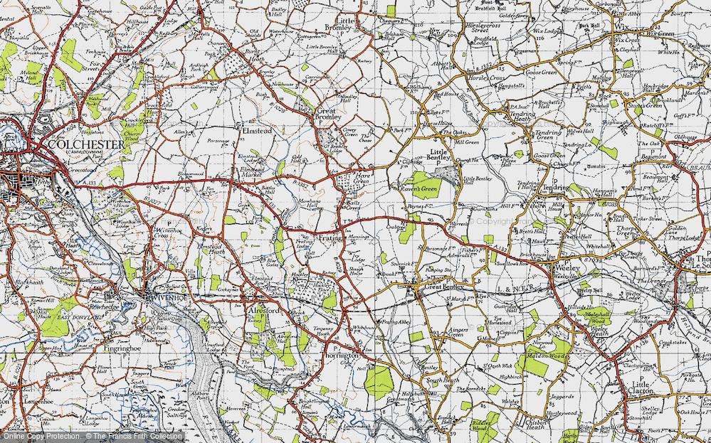 Balls Green, 1945