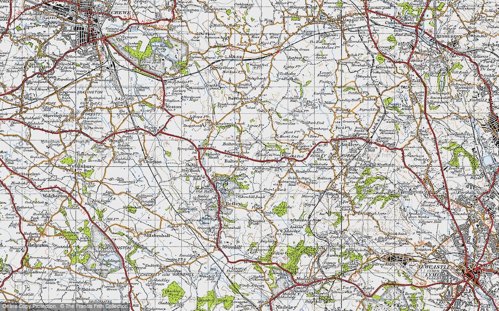Balterley, 1946