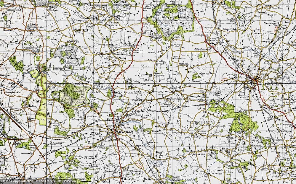 Banningham, 1945