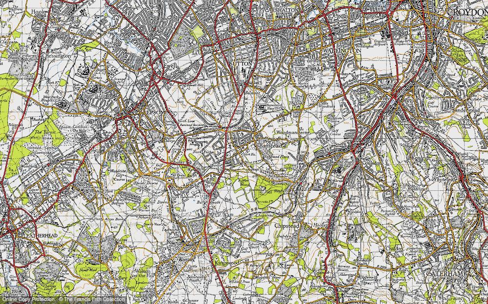 Banstead, 1945