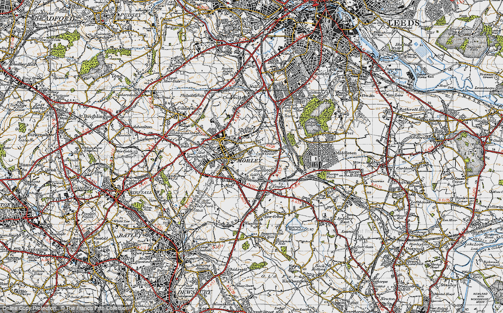 Old Map of Bantam Grove, 1947 in 1947
