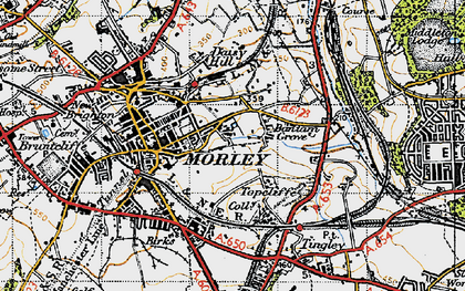 Old map of Bantam Grove in 1947