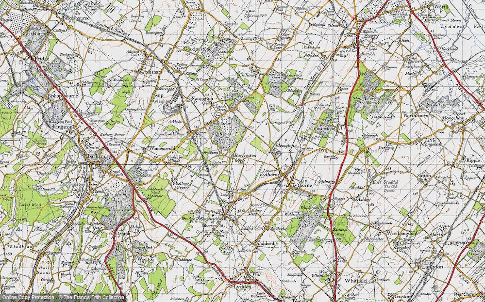 Barfrestone, 1947