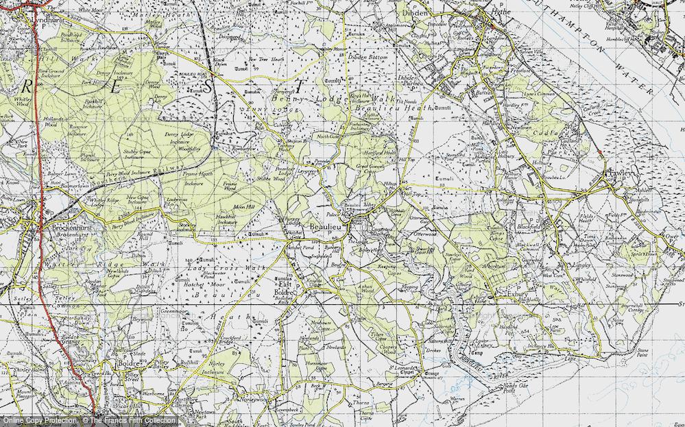 Beaulieu, 1945