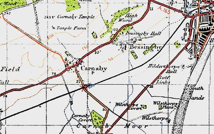 Old map of Wilsthorpe in 1947
